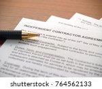 independent contractors...   Shutterstock . vector #764562133