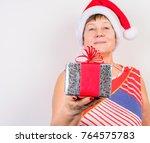 grandma christmas gift | Shutterstock . vector #764575783
