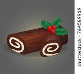 traditional christmas festive...   Shutterstock .eps vector #764589919