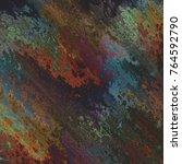 background art  abstract ebru... | Shutterstock . vector #764592790