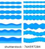 freshness natural theme  fresh... | Shutterstock .eps vector #764597284