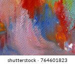 highly textured colorful...   Shutterstock . vector #764601823