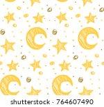 star background  vector | Shutterstock .eps vector #764607490