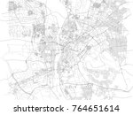 cairo streets downtown  city... | Shutterstock .eps vector #764651614