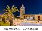 kasbah mosque  a historic... | Shutterstock . vector #764655130