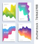 modern abstract covers design... | Shutterstock .eps vector #764661988