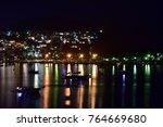 a night view of bodrum bitez | Shutterstock . vector #764669680