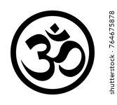 zen icon symbol | Shutterstock .eps vector #764675878