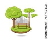 environment concept design | Shutterstock .eps vector #764712160