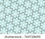 multi color mosaic patter... | Shutterstock . vector #764728690