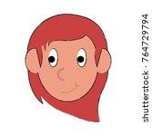 woman face cartoon | Shutterstock .eps vector #764729794
