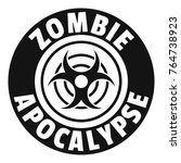 Zombie Infection Logo. Simple...
