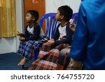 malaysia  kuala lumpur  ... | Shutterstock . vector #764755720
