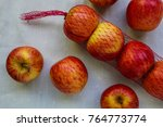 various apples on the table | Shutterstock . vector #764773774