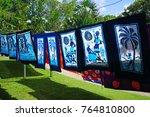 basseterre  st kitts  21 nov...   Shutterstock . vector #764810800