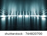 light and reflection elegant... | Shutterstock . vector #764820700