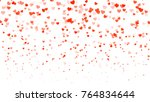 heart halftone valentine s day... | Shutterstock .eps vector #764834644