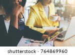 business concept. business... | Shutterstock . vector #764869960
