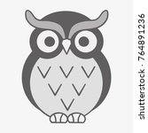 owl vector illustration | Shutterstock .eps vector #764891236