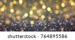 blurred background with light... | Shutterstock . vector #764895586