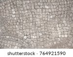 old mosaic  background from... | Shutterstock . vector #764921590