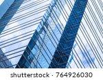 modern business architecture ...   Shutterstock . vector #764926030