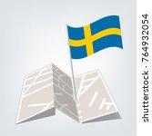 flag of sweden   sweden flag...   Shutterstock .eps vector #764932054
