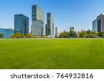 modern cityscape and skyline ... | Shutterstock . vector #764932816