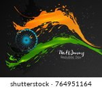 nice and beautiful abstract for ... | Shutterstock .eps vector #764951164