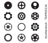 set of gear icon | Shutterstock .eps vector #764963116
