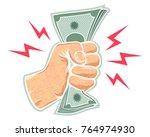 vector retro illustration of a...   Shutterstock .eps vector #764974930