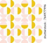 modern vector abstract seamless ... | Shutterstock .eps vector #764977996