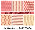 endless texture for wallpaper  ... | Shutterstock .eps vector #764979484