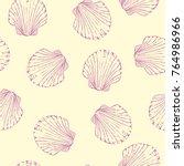 hand drawn boho illustration.... | Shutterstock .eps vector #764986966