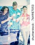 business  startup  planning ... | Shutterstock . vector #764987053