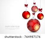 vector illustration abstract... | Shutterstock .eps vector #764987176