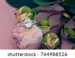 Diamon Engagement Ring On...