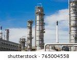 industrial zone the equipment... | Shutterstock . vector #765004558