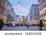 vienna  austria   november 2017 ... | Shutterstock . vector #765019198