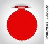 vector sticker. transparent... | Shutterstock .eps vector #76502320