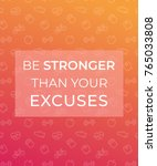 motivation quote  poster for...   Shutterstock .eps vector #765033808