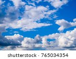 Heavenly Landscape With Clouds...
