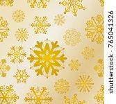 golden texture christmas pattern   Shutterstock .eps vector #765041326