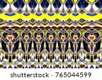 colorful horizontal pattern for ... | Shutterstock . vector #765044599