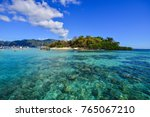 seascape of coron island ... | Shutterstock . vector #765067210