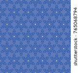 winter seamless pattern with...   Shutterstock .eps vector #765068794
