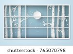 winter season and merry... | Shutterstock .eps vector #765070798