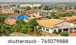 modern residential buildings in ... | Shutterstock . vector #765079888