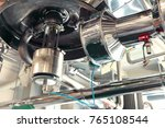 reactors of suspensions and... | Shutterstock . vector #765108544