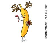 vector cartoon character  ... | Shutterstock .eps vector #765111709